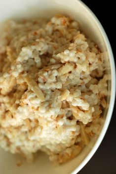 Morning Couscous with Almonds, Coconut and Honey                                                                                                                                                      More