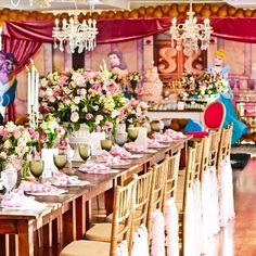 Uma tarde no Castelo aniversário infantil - Princesas