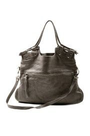 leather bag...i have this in deep purple =)