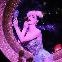 32984ac5487 International burlesque artist Dita Von Teese performing in her