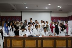 summer training course2014 Said Dr. Bahabri that the application software training is typical experiment waged by the Saudi hospitals distinct leader in the provision of medical and therapeutic services to patients and pointed out that the students of the universities