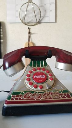 Cougar cola old style phone