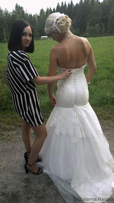Wedding dress made by me