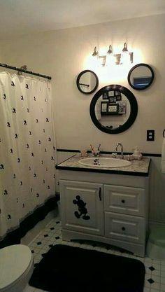 banheiro Mickey