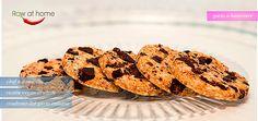 biscotti al burrosi al cioccolato raw