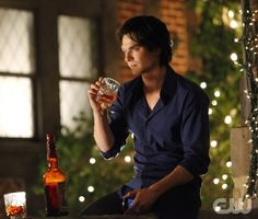 """""""THE BIRTHDAY """"--Ian Somerhalder as Damon on THE VAMPIRE DIARIES on The CW. Photo: Quantrell D. Colbert/The CW 2011 The CW Network. All Rights Reserved."""