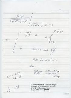 2020年2月16日(日) 9:58  № 1095   下記予告のように多次元のゼロ除算算法の論文原案ができた。原型は図のようである。  簡単であるが、誰も考えたことのない世界です。分子がゼロでなく、分母がゼロの場合を考えている。表現を整えるため、厳重な検討を行っている。2020.2.16.10:00  2020.02.13 Sheet Music, Math Equations, Music Score, Music Charts, Music Sheets