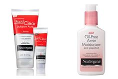 Skincare Review, Ingredients: Oil-Free Moisturizer, Rapid Clear Gel – Neutrogena's Best New Acne, Blemish, Pimple Treatments For 2015, 2016