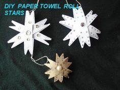 Paper towel roll stars