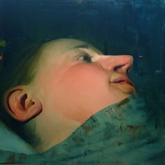 "Saatchi Art Artist: Benjamin Björklund; Oil 2014 Painting ""Murmur"""