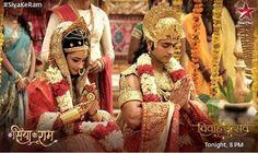 Sita and Ram - For more Siya Ke Ram pins follow: @meghnaprasad4