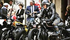 Gentleman's ride Milan