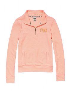 Half-Zip Pullover - Victoria's Secret PINK - Victoria's Secret