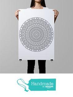 diamonds mandala coloring page, gemstones coloring, crystals mandala coloring poster, DIY wall art, color in wall decor, diamonds decor from AnnaGrundulsDesign https://www.amazon.com/dp/B01H66GOQ4/ref=hnd_sw_r_pi_dp_O-0yxbYTZV7J6 #handmadeatamazon