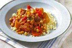 Couscous With Pumpkin, Carrots,