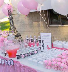 Fiesta Parisina en cebra y rosa: kit completo de imprimibles gratuitos.