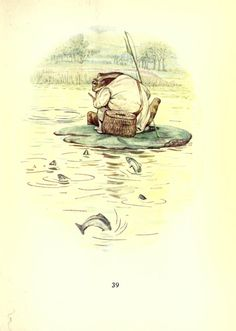 pagewoman:  starrydiadems The Tale of Jeremy Fisher by Beatrix Potter