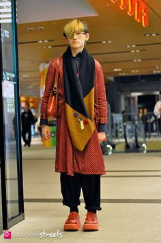 Tokyo street style.  Remove the grunge component and the jacket has limitless possibilities...length, color combos, silk, cotton or rayon...and I'm just getting started.