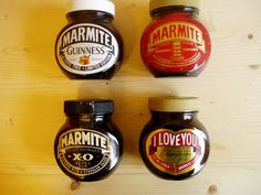 Marmite jars Yeast Extract, Retro Diner, Marmite, Guinness, Food And Drink, Branding, Bottle, Product Design, Jars
