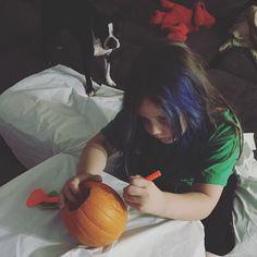 Hard at work  #family #love #halloweentown