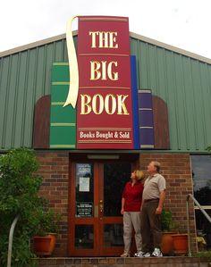The Big Book main sign / Danthonia Designs