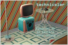 2010.08 - Retro 20th Century August Themes, Buy Electronics, Vintage Swimsuits, Retro Futuristic, How To Start Running, Retro Color, Poster Making, Sims 2, I Am Game