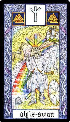 15 Algiz - Witches Runes by Silver RavenWolf and Nigel Jackson
