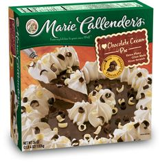 Marie Callender's Chocolate Cream Pie: 2 grams trans fat per serving (1/8 pie)