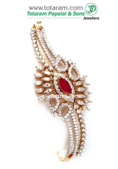 Totaram Jewelers: Buy Indian Gold jewelry & 18K Diamond jewelry: Diamond Bracelets