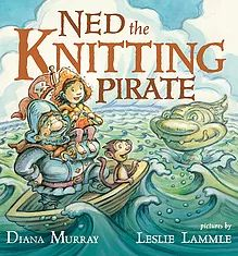 "Read ""Ned the Knitting Pirate"" by Diana Murray available from Rakuten Kobo. The crew of the pirate ship the Rusty Heap are a fearsome bunch! They're tougher than gristle and barnacle grit. Boomerang Books, Rhyming Pictures, Sea Monsters, Children's Literature, Used Books, Fiction Books, Story Time, New York Times, Childrens Books"