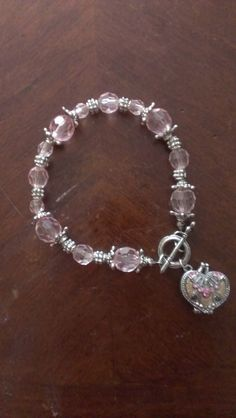 Beaded Locket Bracelet