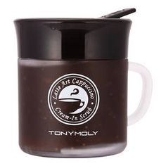 Latte Art Cappuccino Cream-In Scrub - Crème exfoliante, nourrissante, gourmande de Tonymoly sur Sephora.fr