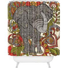 DENY Designs // Valentina Ramos Bo the Elephant Shower Curtain