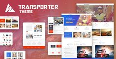 Transporter  Transportation & Logistics WordPress Theme by IronNetwork Transporter theme is fully responsive WordPress theme. It comes with 5 different layout designs which provides you the flexibility