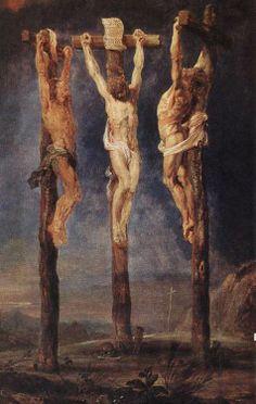 Las tres cruces, de Rubens, 1620                                                                                                                                                      Más