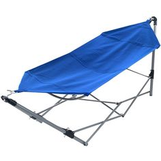 Stalwart™ Portable Camping Hammock ($70) ❤ liked on Polyvore featuring home, outdoors, patio furniture, hammocks & swings and folding hammock