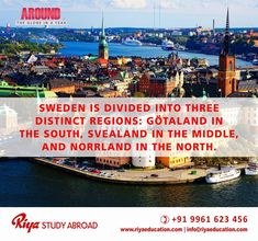 Study in Sweden !!! Sweden awaits you. Study in one of the Scandinavian country and shape your career. Get in touch with Riya Study Abroad for more details on overseas education programs. Visit our website http://www.riyaeducation.com/