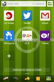 UC browser themes