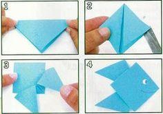 Oi gente!!! Para complementar as atividades para o Dia do Índio estou postando peixinhos feitos com origami… Vamos aprender e fazer? Confira o passo a passo. Também com origami você pode fazer peixinho porta guloseimas… Que graça e que criativo não é mesmo? Tem passo a passo também. Enquanto você vai ensinando o passo a … Origami, Pisces, Animals, Creativity, Lets Go, Origami Paper, Origami Art