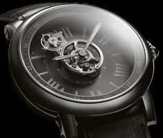 Cartier Astrotourbillon Carbon Crystal Watch, born of the ID One Concept Watch