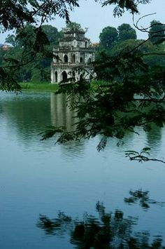Turtle Pagoda, Hanoi... great place to visit. I just came home. #bizitalk