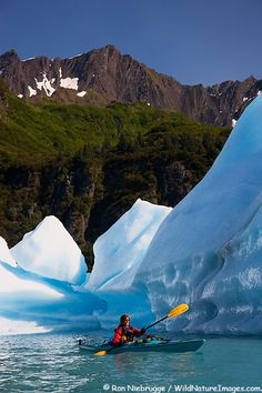 Kenai Fjords Kayaking (Been to Kenai- haven't seen the outside from a kayak though!)