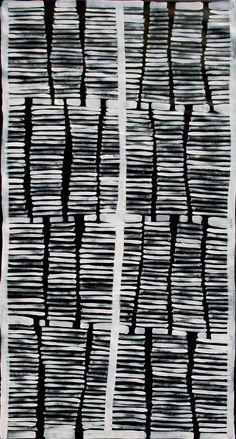 Aboriginal Artwork by Adam Reid. Sold through Coolabah Art on eBay. Cataogue ID 12467
