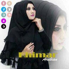 jual diskon Hijab/Jilbab Instant Khimar Arabian Online