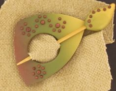 premo! Dotted Shawl Pin and Stick | Polyform Products Company