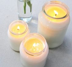 Bondville: Craft: Make your own Soy Candles Tutorial! This seems a lot harder then I originally thought it would be but I still want to give it a go!