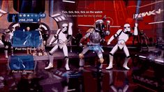 Ruthless intergalactic bounty hunter...shakin' his groove thang??? That's just wrong...