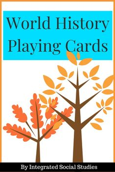 World History Playing Cards: Ancient World can literally be used for ANY card game. You are only limited by your imagination! Ancient China, Rome, Egypt, and Persia each have 13 cards featuring interesting must know information that gives you the opportunity to create memorable and fun lessons! Included are two game instructions to help you get started. Check out my TpT store for more details. #tpt #teacherspayteachers #worldhistory #gamesintheclassroom #cardgames #tptpins