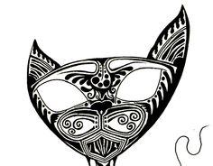 "Check out new work on my @Behance portfolio: ""[Α]Feline"" http://be.net/gallery/31765429/Feline"