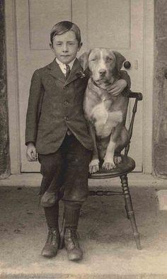 +~+~ Vintage Photograph ~+~+ Houndsome buds